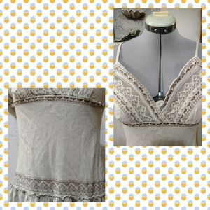 Studio Y Dresses - Buff colored boho dress